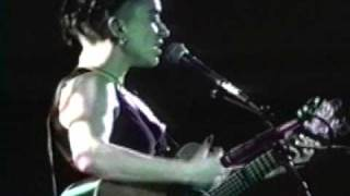 Ani DiFranco at the State Theatre in Ithaca, New York 1995