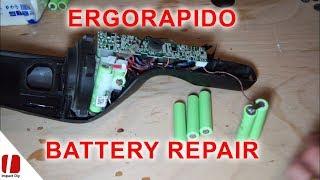 Ergorapido Battery replacement - Inlocuire acumulatori