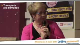 preview picture of video 'Lodève 2014 : service de transport à la demande'