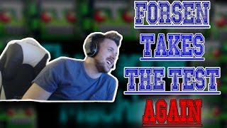 Forsen Takes The Cancer Music Test Again
