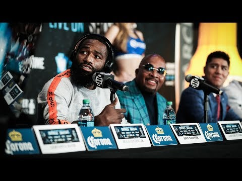 Broner vs. Vargas: Press Conference | SHOWTIME CHAMPIONSHIP BOXING