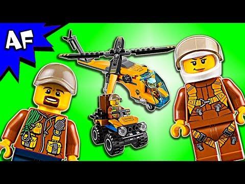 Vidéo LEGO City 60158 : L'hélicoptère cargo de la jungle