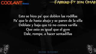 Coolant (Remix)   Farruko Ft Don Omar (Letra)