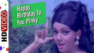Happy Birthday To Pinky | Aaj Ki Taaza Khabar (1974) Song | Radha Saluja | Kiran Kumar |Asha Bhosle