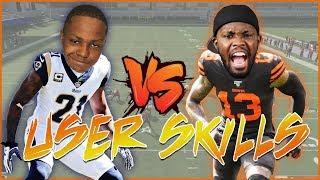 Who's Better? Odell Beckham Jr. Or Aquib Talib? - User Skills Challenge
