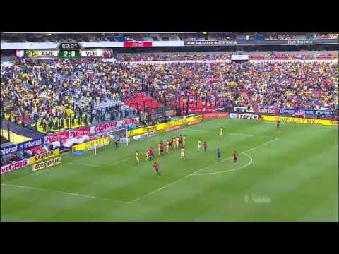 América vs Veracruz 3-1 Jornada 6 Liga MX Ap15