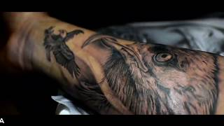 EAGLE TATTOO ON  FOREARM | TIME LAPSE | GENTLEMENS INK TATTOO STUDIO ZIRA