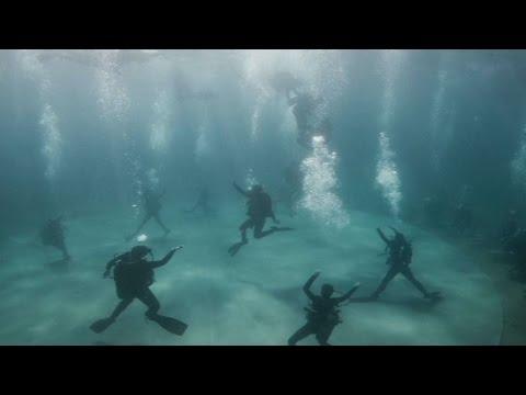 Η πρώτη υποβρύχια χορευτική παράσταση γίνεται στο Σούνιο