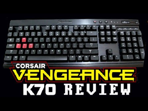 LGR - Corsair Vengeance K70 Keyboard Review