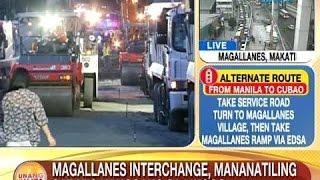 UB: Magallanes Interchange, mananatiling sarado hanggang sa Linggo