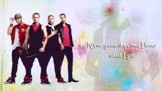 JLS - Never Gonna Stop Lyrics Video