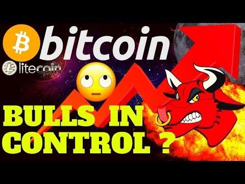 🔥 BITCOIN BULLS IN CONTROL ? 🔥bitcoin litecoin price prediction, analysis, news, trading
