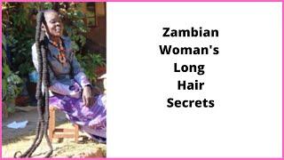 Africas Real-Life Rapunzel - Long Natural Hair Secrets (Works 100%)