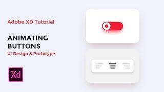 Animating Buttons (UI design & Prototype) - Adobe XD tutorial [2019]