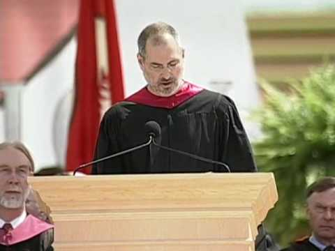 Steve Jobs' 2005 Stanford Commencement Address (with intro by President John Hennessy)