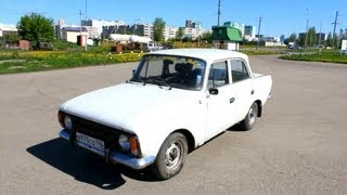 1984 Moskvich 412. Start Up, Engine, and In Depth Tour.
