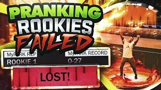 PRANKING BROWN SHIRTS ON NBA 2K17 FAILED MISERABLY!!