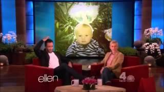 Alex OLoughlin By Ellen DeGeneres 17.05.2013