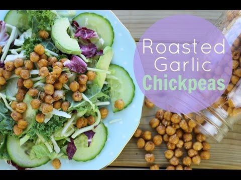 How To: Roasted Chickpea Recipe | Healthy Gluten-Free Snacks