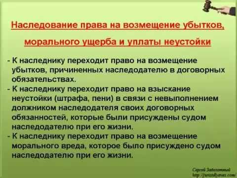 10. Право на возмещение убытков