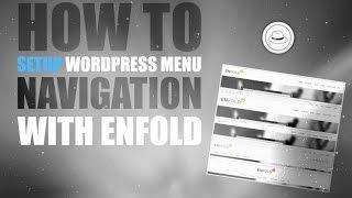 How To Setup Wordpress Menu Navigation With Enfold