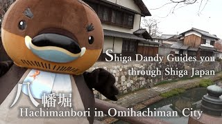 Hachimanbori in Omihachiman【Shiga Dandy Guides you through Shiga Japan】