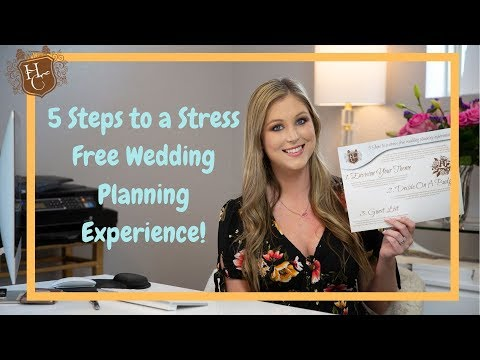 , title : '5 Steps to a Stress-free Wedding Planning Experience!