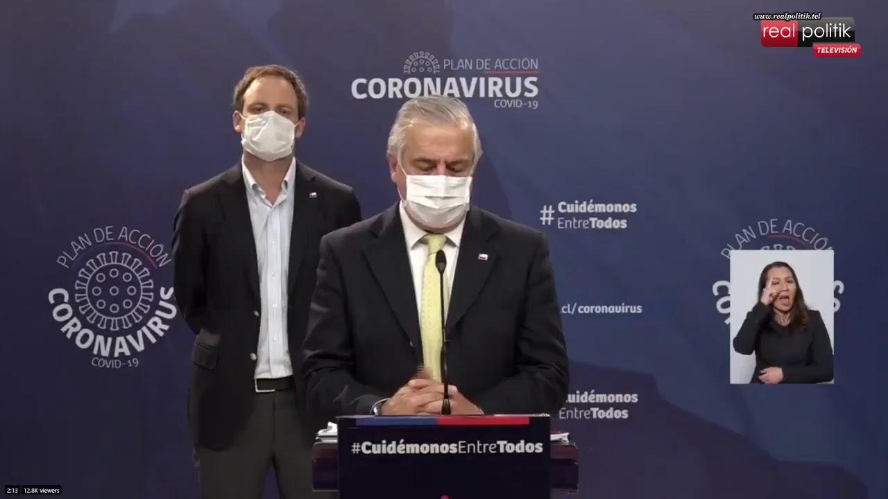 Chile: 11.296 casos confirmados por coronavirus y 160 muertes