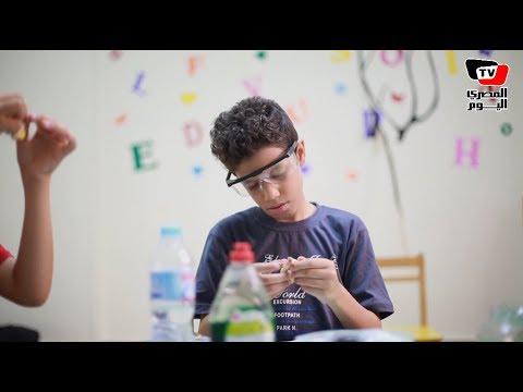 «الفكر خانة».. مبادرة لتعليم الأطفال العلوم بـ«المارشميلو والصابون»