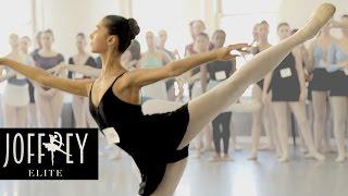 Ballet Auditions Day 1   JOFFREY ELITE Ep 1