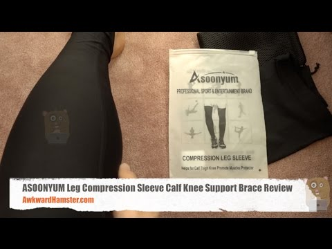 ASOONYUM Leg Compression Sleeve Calf Knee Support Brace Review