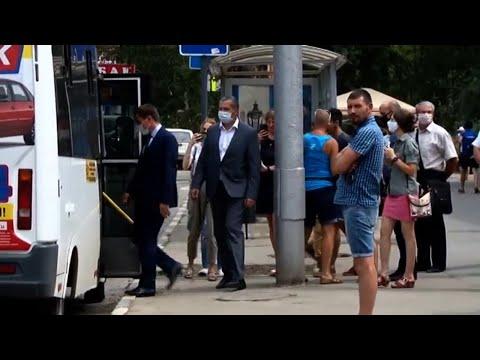 Полиция проверила масочный режим в транспорте