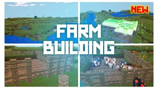 AMAZING NEW VIDEO!  Farm Building @@ REALMCRARFT Game with skin Export to Minecraft)