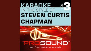 Heartbeat Of Hope (Karaoke Lead Vocal Demo) (In the style of Steven Curtis Chapman)