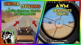 DYNAMO Playing in MIRAMAR || CUSTOM ROOM FUN || Highlight #24