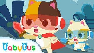 Siêu nhân mèo con dũng cảm | Bộ sưu tập Mèo con Mimi & Timi | Tuyển tập bài hát thiếu nhi | Babybus