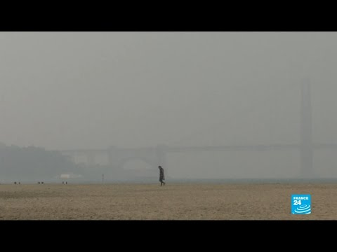 California cities 'world's most polluted' due to wildfire smoke