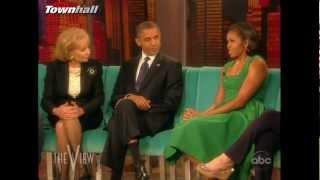 Barack & Michelle Obama on the