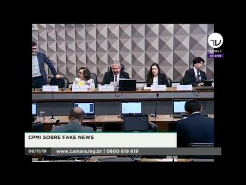 CPMI Fake News -  Depoimento de representantes de portais