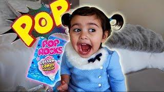 BABY VS. POP ROCKS (HILARIOUS REACTION)