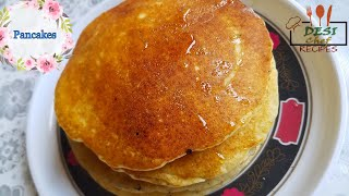 how to make thick fluffy pancakes without baking powder