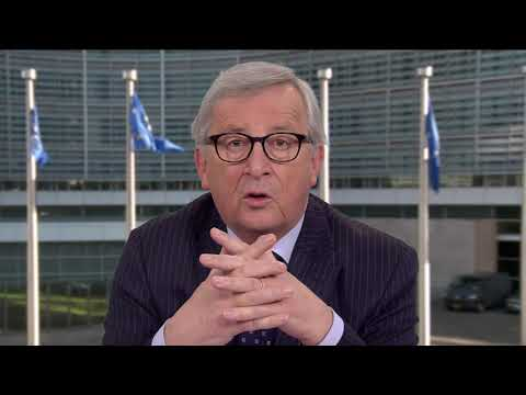 Message by EU Commission President Juncker to the Council of Europe on the Anniversary of the Schuman Declaration