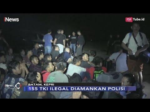 155 TKI Ilegal dari Malaysia Diamankan di Batam - iNews Pagi 19/03