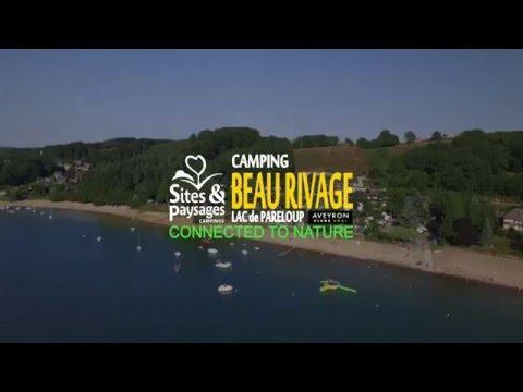 camping beau-rivage - Lac de Pareloup - aveyron,