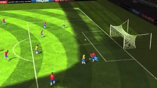 FIFA 14 Android - Brazil VS Chile