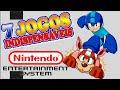Nintendo 8 bits 7 Jogos Indispens veis