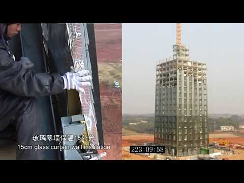 Amazing Timelapse Of 30-Storey Building Constructed In Only 360 Hours