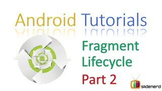 #103 Android Fragment Lifecycle Part 2 :Android Tutorial For Beginners [HD 1080p]