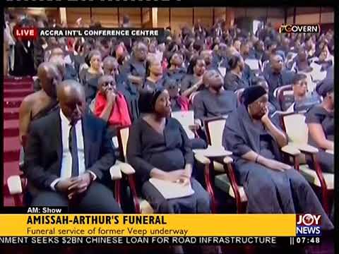 Amissah-Arthur's Funeral - AM Show on JoyNews (27-7-18)