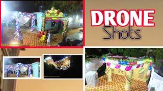 DJI phantom 4 pro wedding/cinematic photage by Drone // How to shoot cinematic Highlight wedding II